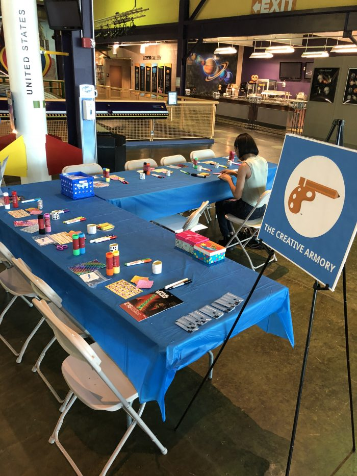 The Creative Armory's first event was at the Michigan Science Center in Downtown Detroit.