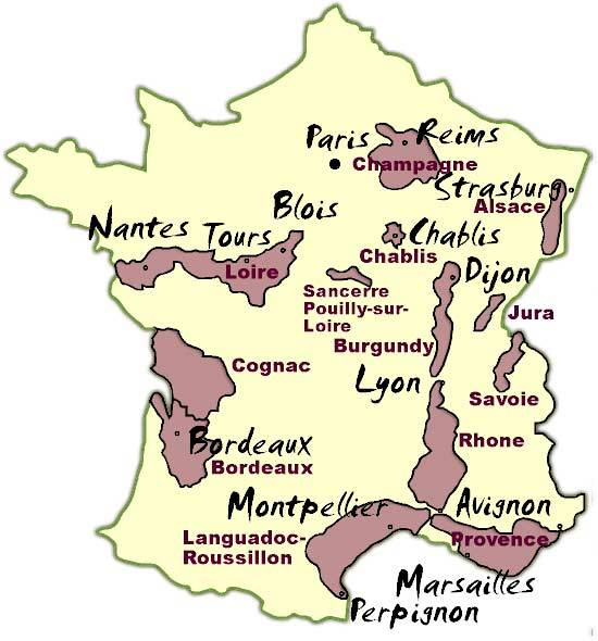 Sancerre France Map.French Wine Scholar Good Life Vancouver