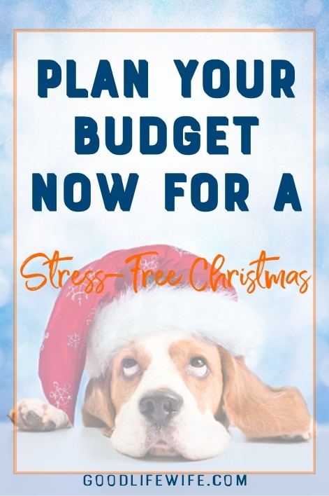 Have a stress-free Christmas by making a realistic budget now!
