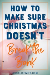 Budget for Christmas so you don't end up in debt in the New Year!