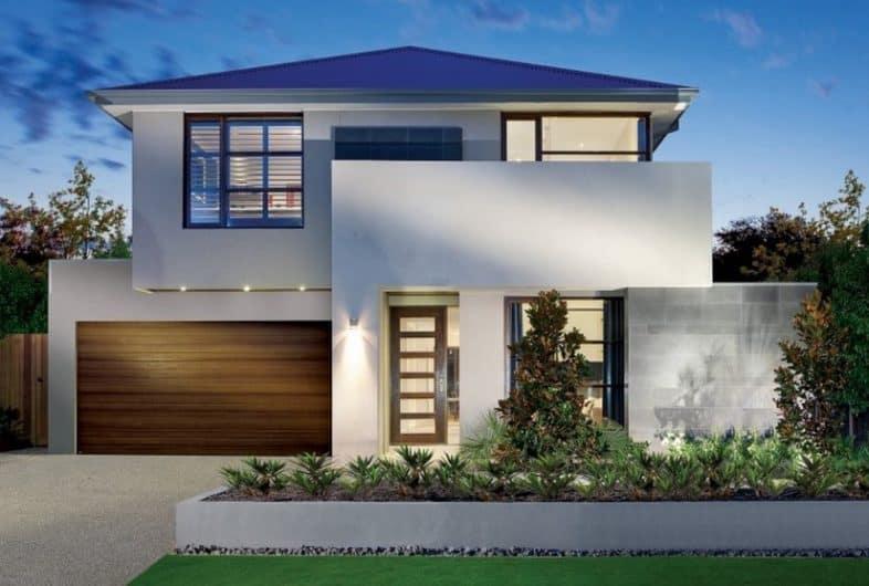Contoh Model Desain Rumah Bergaya Minimalis Modern & 100+ Desain Rumah Minimalis Sederhana dan Modern Terbaru Inspirasi ...
