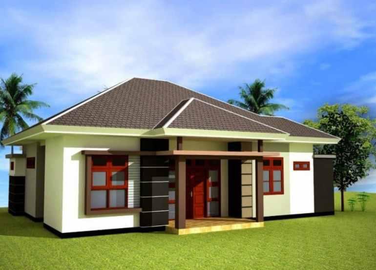 Desain Rumah Idaman Minimalis Sederhana Type 36 72