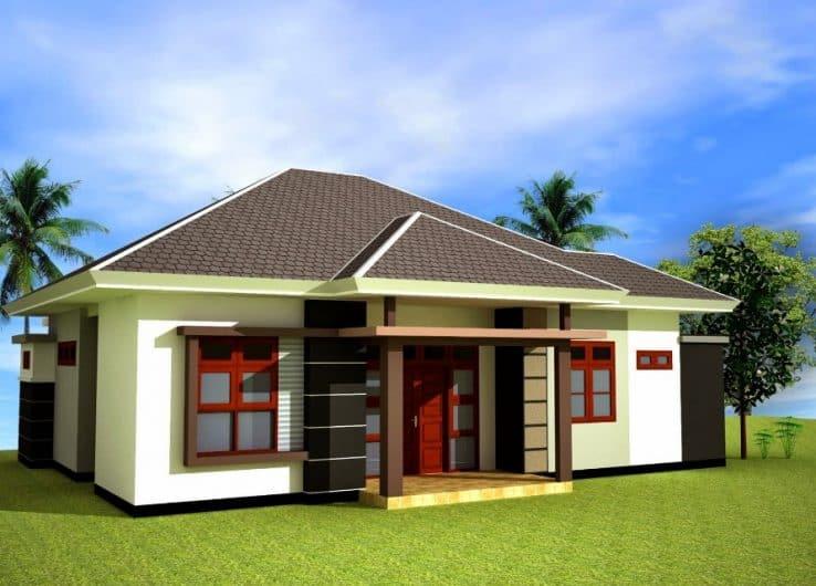 Desain Rumah Minimalis 2 Lantai Type 36 72 Desain Rumah Modern