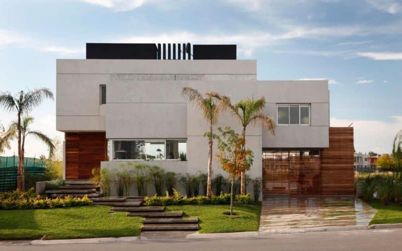 Rumah Mewah konsep Minimal Modern & 100+ Desain Rumah Minimalis Sederhana dan Modern Terbaru Inspirasi ...