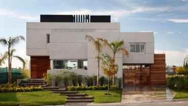 Rumah Mewah konsep Minimal Modern