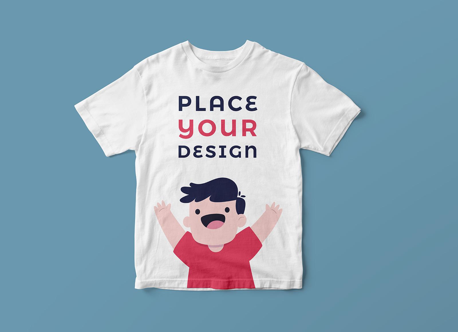 Buy Kids T Shirt Mockup