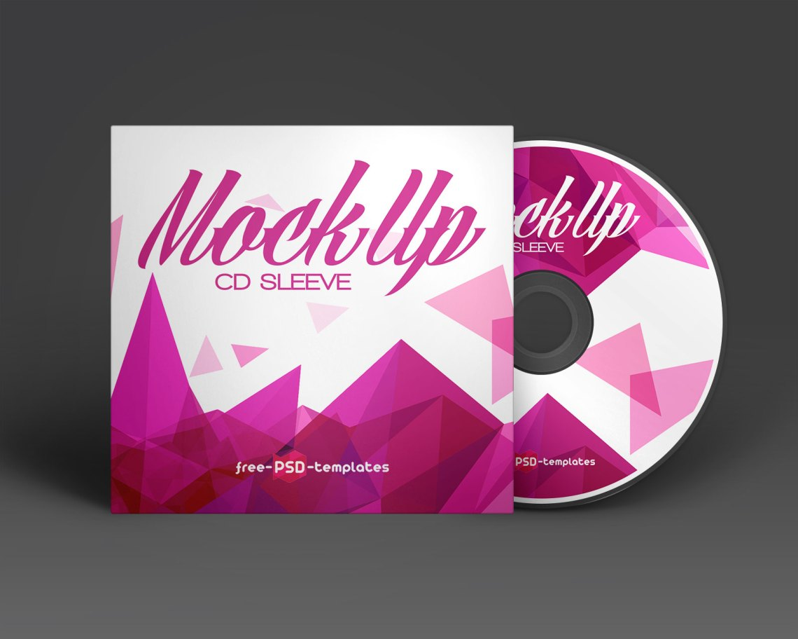 Download Free CD / DVD Cover & Blu-Ray Disc Mockup PSD - Good Mockups