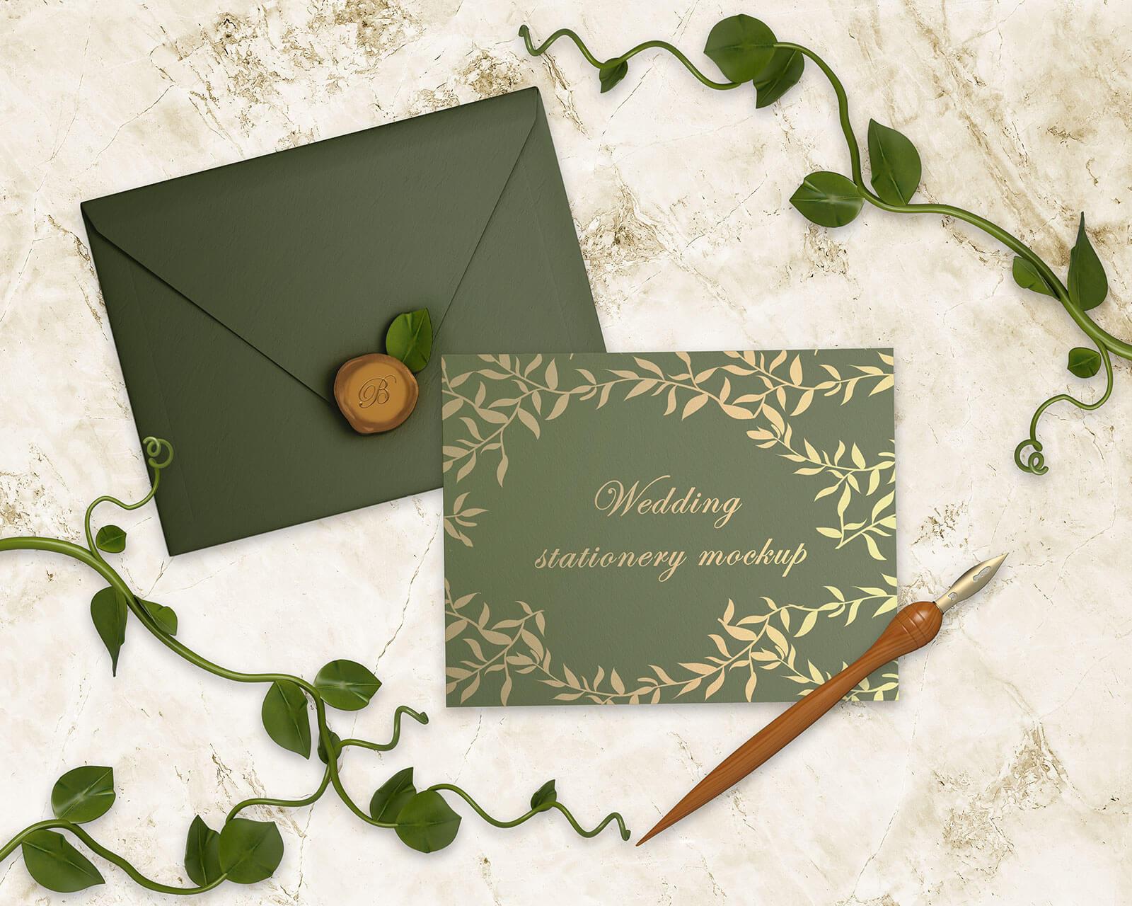 free wedding invitation card envelope