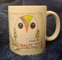 What is my next step? Mug