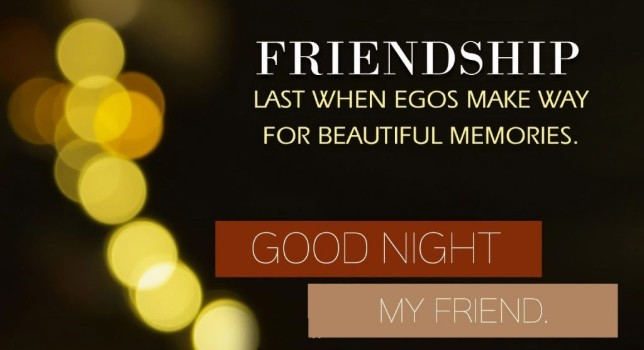 All friends good night image with quotes in tamil