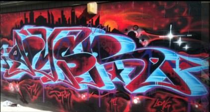 Danny Diamond (no title) 2012 (Greeke wall behind Prince Insurance)
