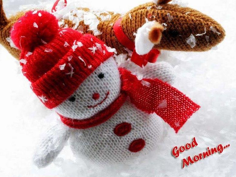 Snow Fall Cute Good Morning Photos Good Morning Images