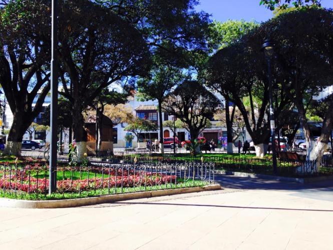 sucre-bolivie-plaza-25-mayo
