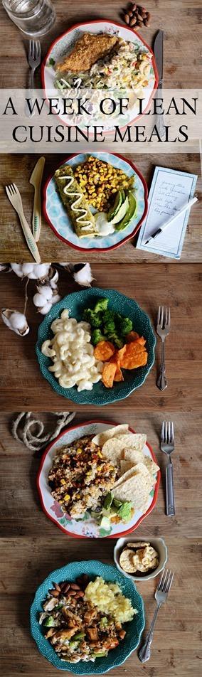 Lean cuisine meals