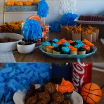 Fun Basketball Tournament Party Set-Up