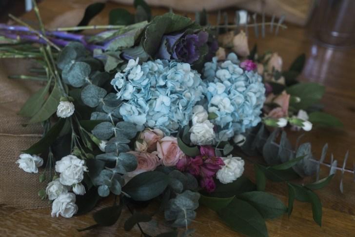 farmstand bouquet diy