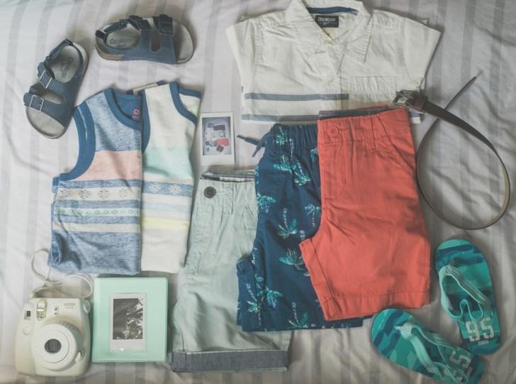 toddler kids style spring break packing