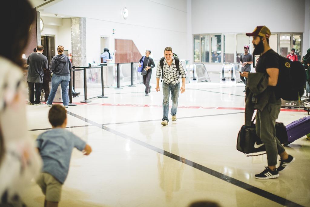 Atlanta Airport Military Homecoming – Good Morning Loretta