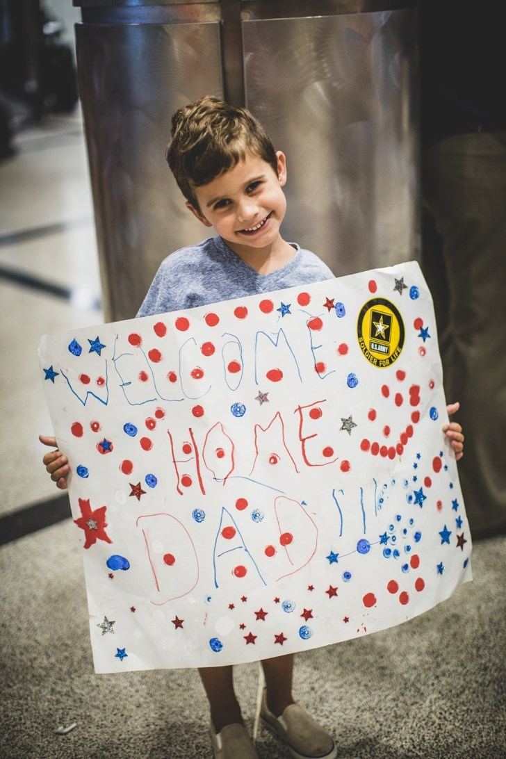 Atlanta Airport Military Welcome Home Photographer (4)