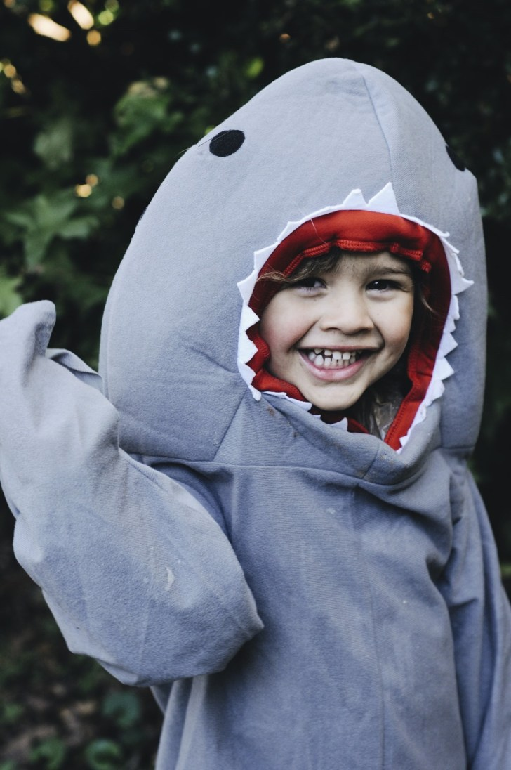 toddler boy shark costume