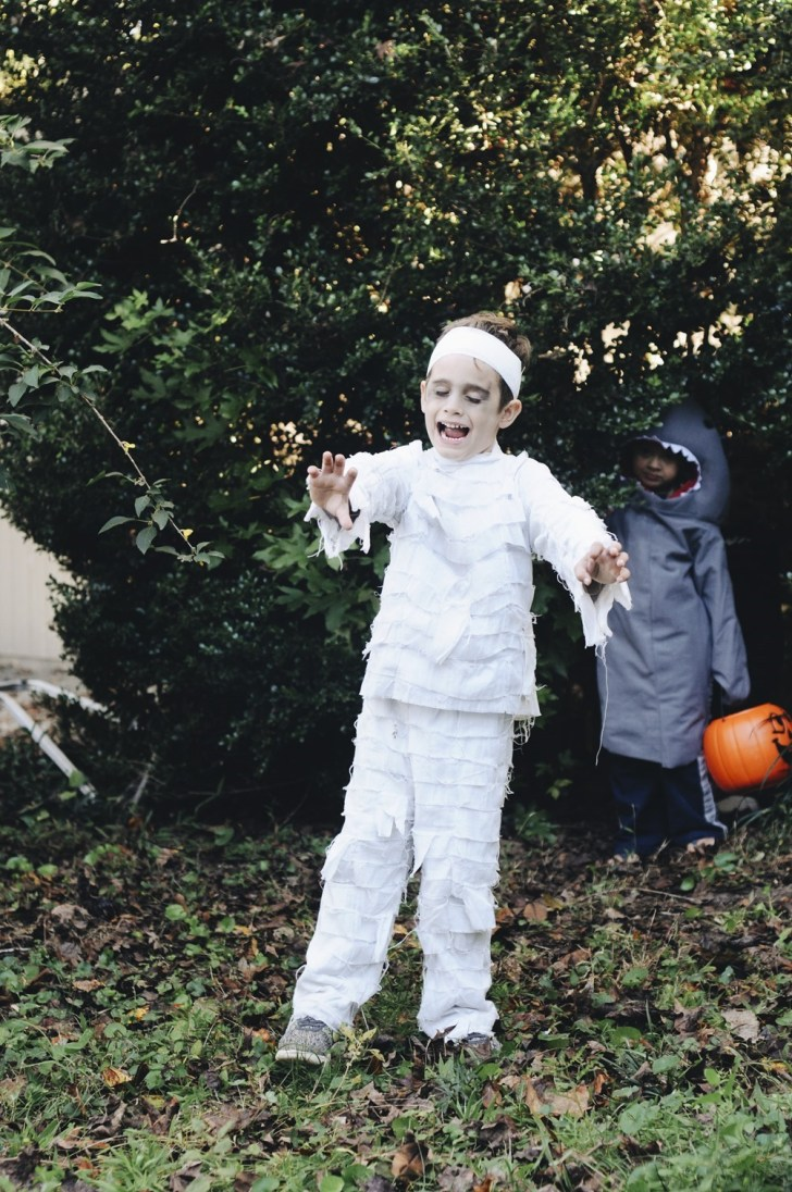 toddler boy mummy costume