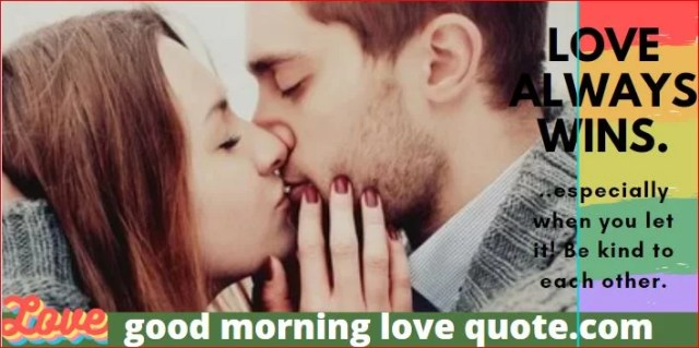 good morning love quotes express with your lover