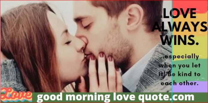 Best Romantic & Sweet Good Morning Love Quotes Image 1