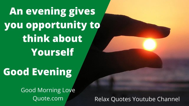 Best Good Evening Quotes For Her HD Image 2