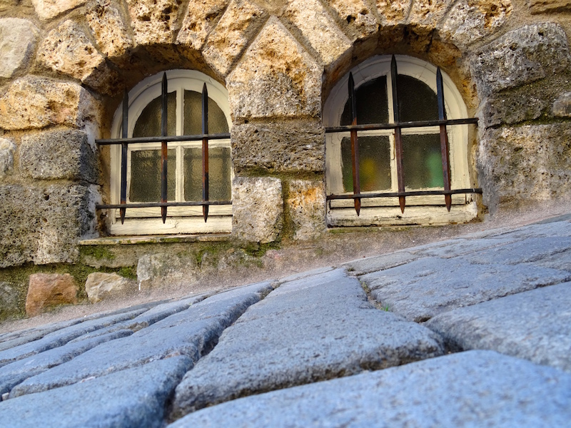blog voyage, village medieval