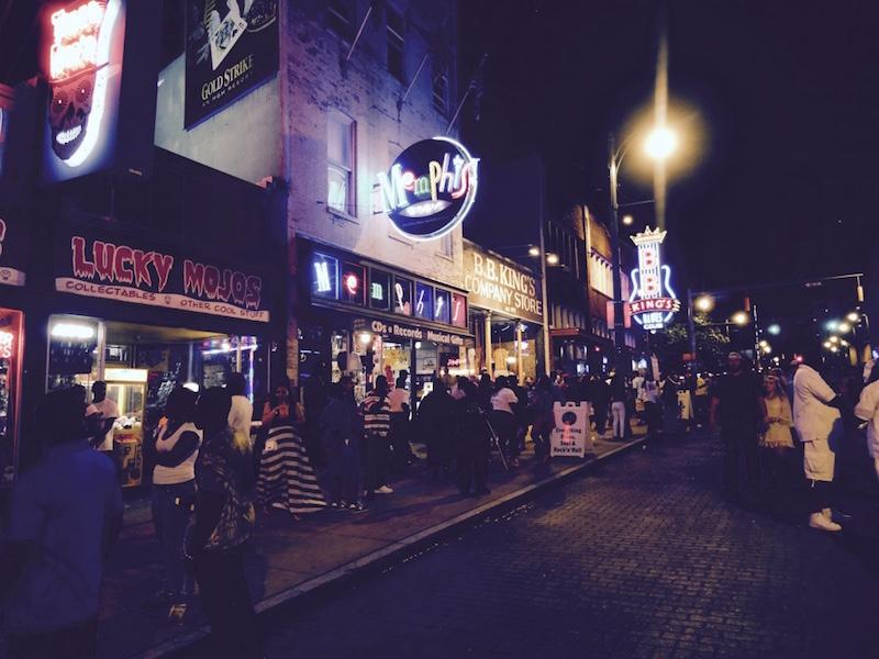 Visite de Memphis en noir et blanc et en vidéo !