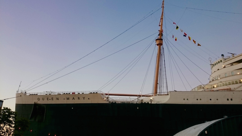 blog voyage, blog voyage cote ouest us, blog californie usa, visite los angeles, visite californie, blog photo usa, Queen mary hôtel