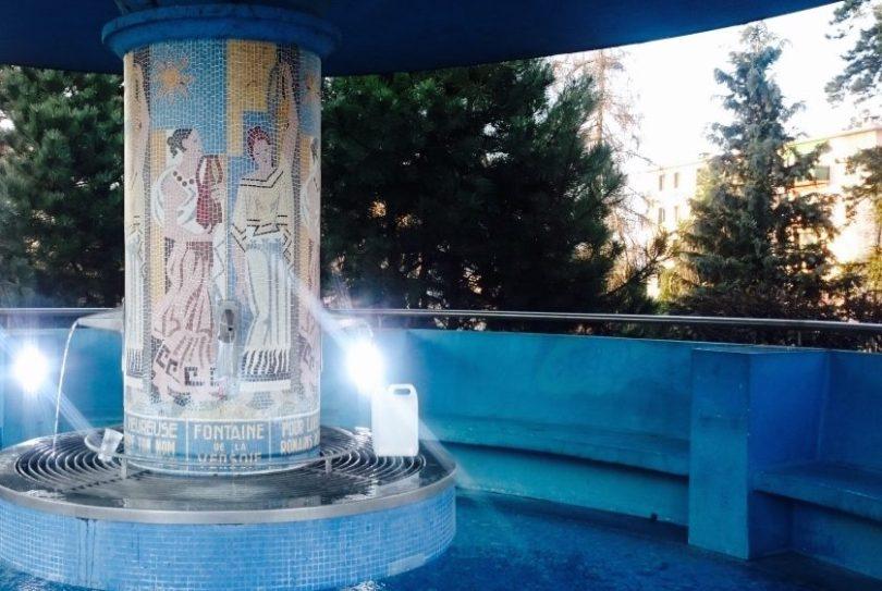 thonon les bain fontaine 1