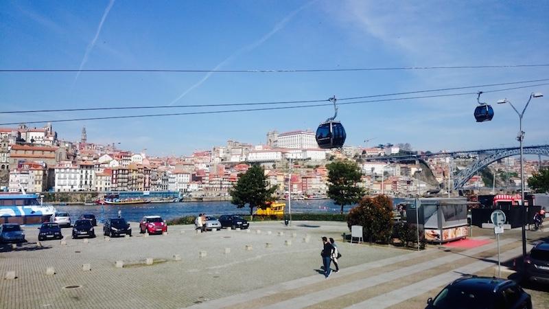 telepherique porto visiter le portugal blog voyage