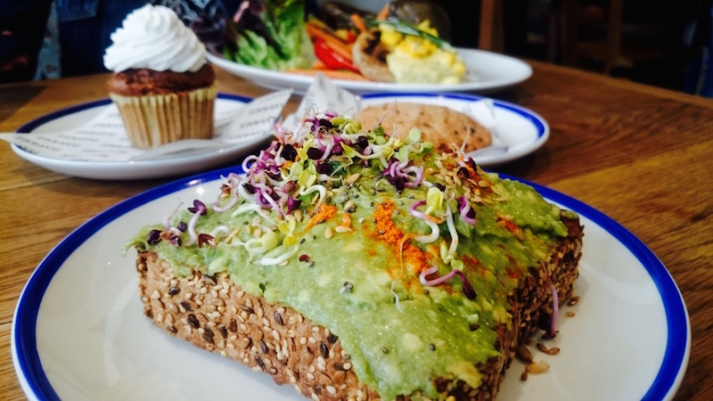 restaurant vegan flax and kale barcelone