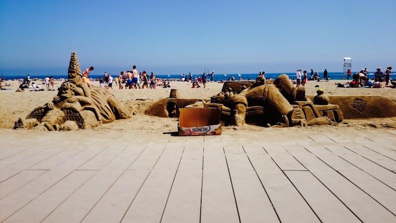 barceloneta plage barcelone visite