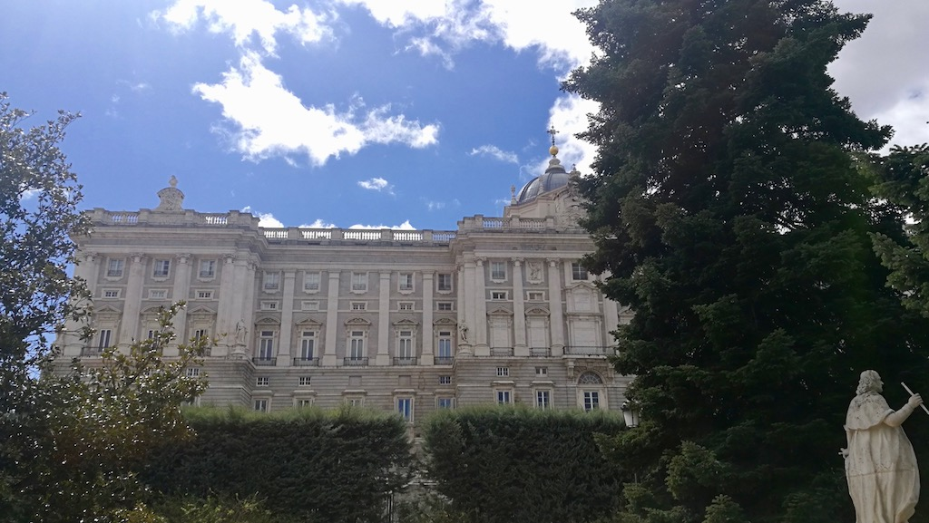 visiter madrid jardin palais royal