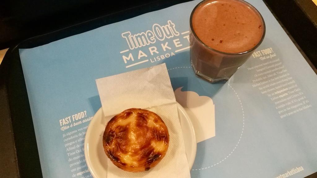 restaurants à Lisbonne time out market pasteis