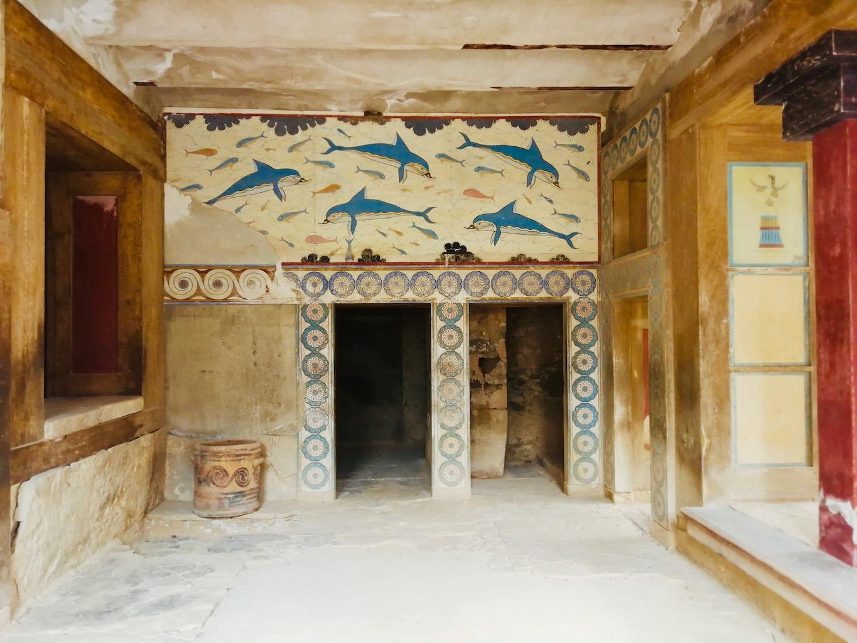 voyage en Crète decouvrez knossos