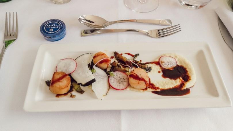 dejeuner sur l'hermes 2 bateau de croisiere a lyon