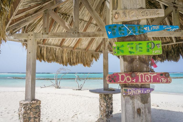 De mooiste stranden ter wereld Aruba Baby Beach
