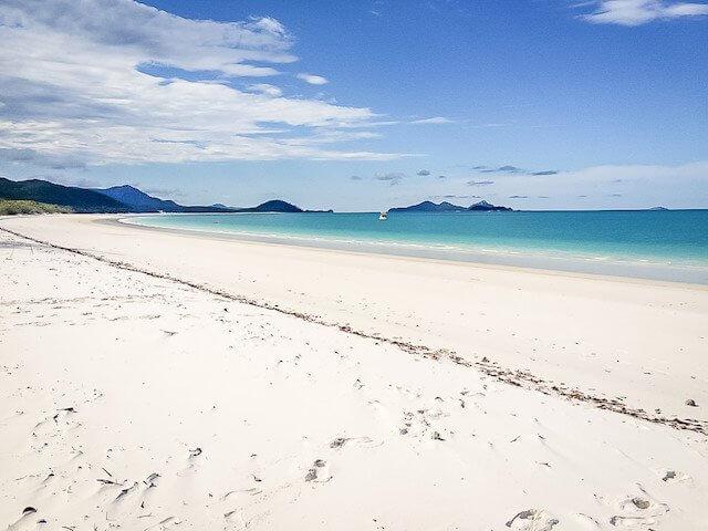Australië Oostkust Whitehaven Beach Bestemmingen september