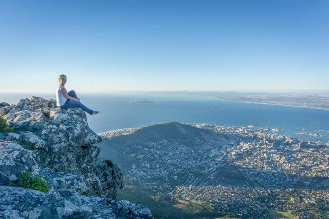 Kaapstad vakantie Zuid-Afrika Tafelberg uitzicht