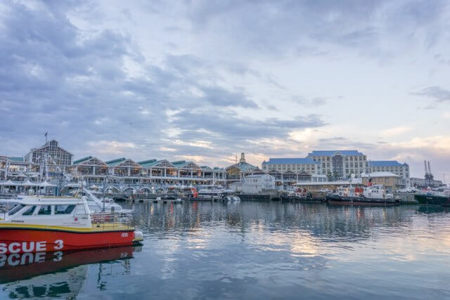 Kaapstad vakantie Zuid-Afrika V & A Waterfront