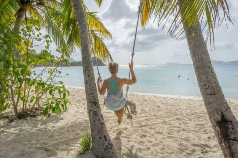 Britse Maagdeneilanden Caraïben Britse Maagdeneilanden Tortola Smokkelaars Cove Beach