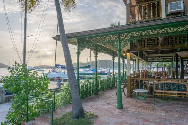 Britse Maagdeneilanden Caribische Virgin Gorda Bitter End Yacht Club