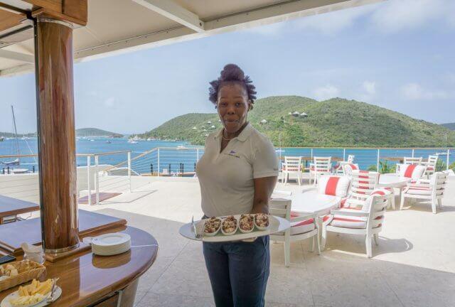 Britse Maagdeneilanden Caraïben Virgin Gorda Costa Smeralda Beach Club