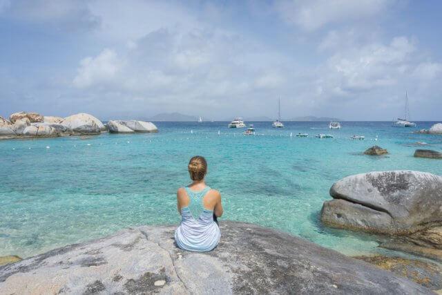 Britse Maagdeneilanden Caraïben Virgin Gorda The Baths Devils Beach