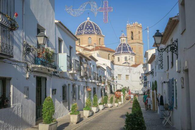 Spanje Altea Bestemmingen september