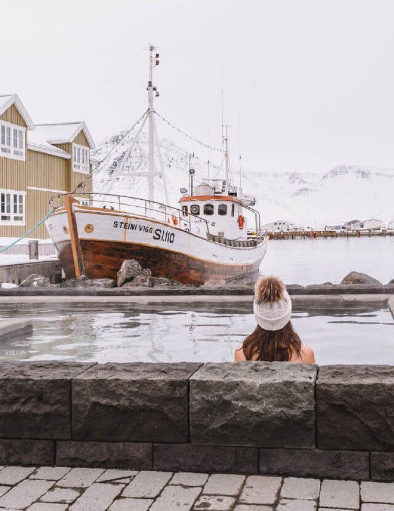 IJsland Siglufjoerdur Siglo Hotel Hot Pot
