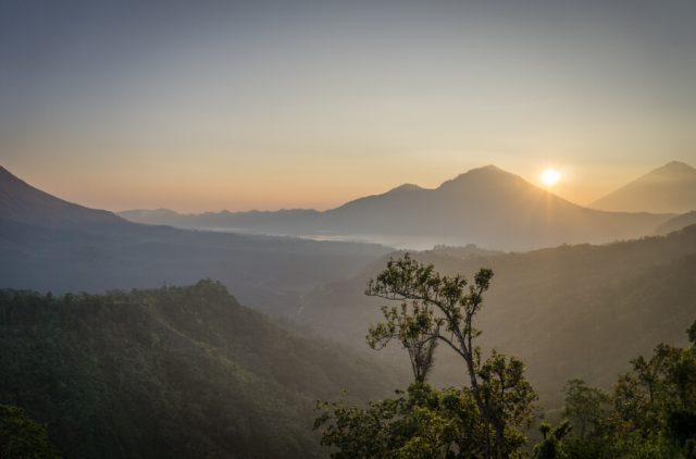 Bali attracties vulkaan Gunung Batur